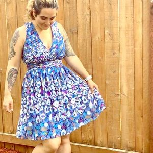 🖐🏼 5 for $25 Blue sleeveless dress size 8